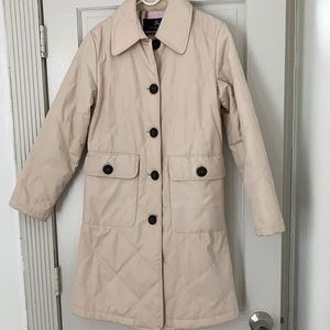 Burberry Blue Label Quilted 3/4 Spring Coat